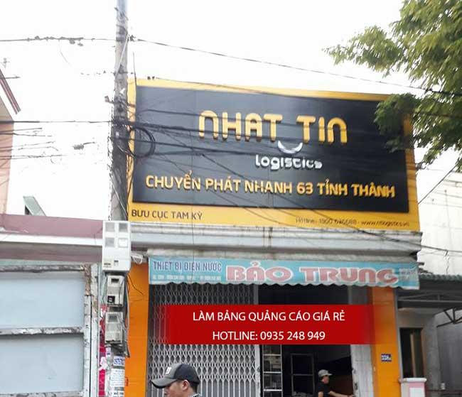 thi cong lam bang hieu quang cao 174 1 - Làm bảng hiệu bạt hiflex đường Phan Anh, quận Bình Tân