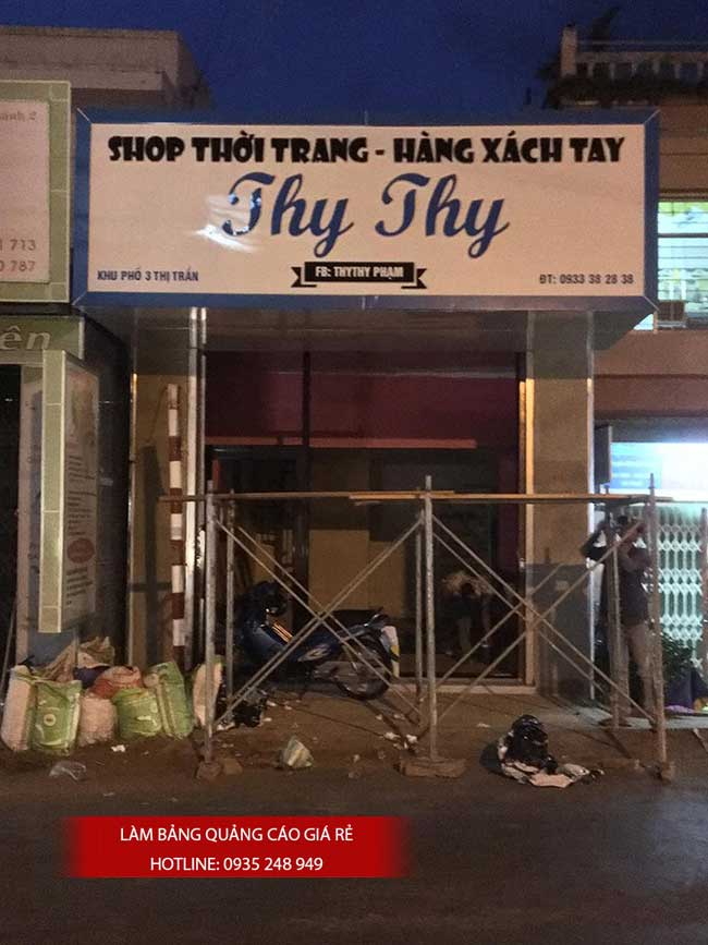 thi cong lam bang hieu quang cao 179 - Làm bảng quảng cáo tại đường Lê Văn Quới quận Bình Tân