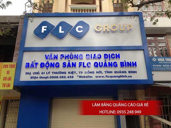 thi cong lam bang hieu quang cao 185 1 - Làm bảng hiệu chữ nổi mica quận Tân Phú