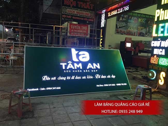 thi cong lam bang hieu quang cao 186 1 - Làm bảng hiệu quảng cáo đường Nguyễn Sơn quận Tân Phú