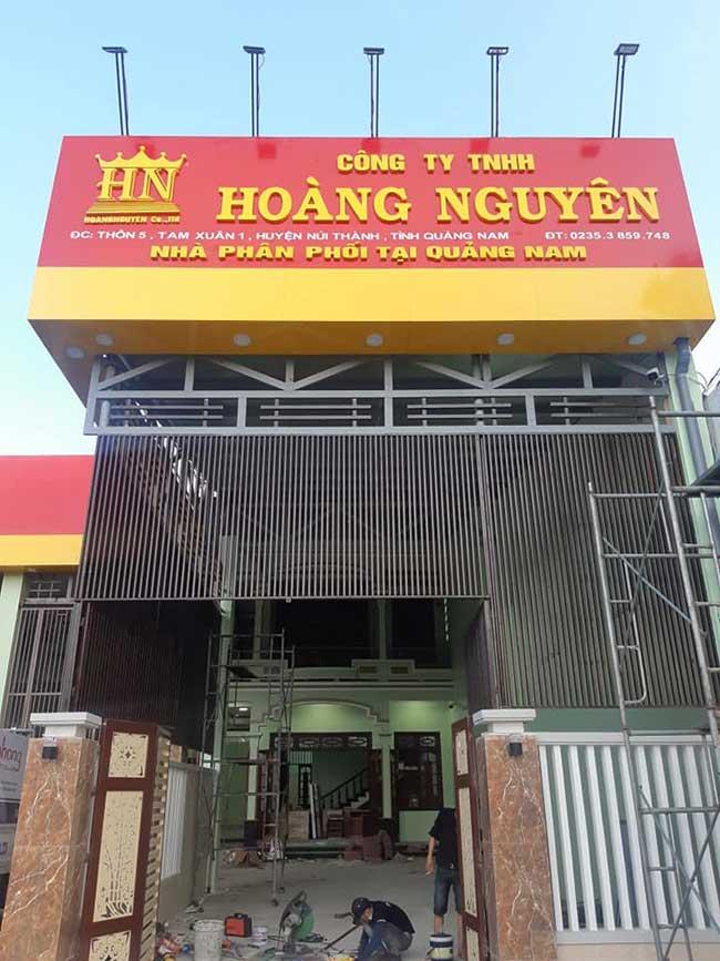 thi cong lam bang hieu quang cao 188 - Làm bảng quảng cáo tại đường Lê Văn Quới quận Bình Tân