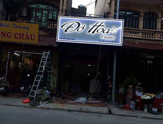 thi cong lam bang hieu quang cao 194 - Làm bảng quảng cáo tại đường Trương Phước Phan quận Bình Tân