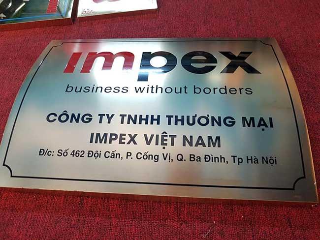 thi cong lam bang hieu quang cao 197 - Làm bảng hiệu công ty đẹp uy tín tại tp hcm
