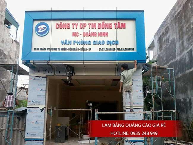 thi cong lam bang hieu quang cao 20 1 - Làm bảng quảng cáo tại đường Lê Văn Quới quận Bình Tân
