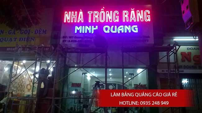 thi cong lam bang hieu quang cao 21 1 - Làm bảng quảng cáo tại đường Lê Văn Quới quận Bình Tân