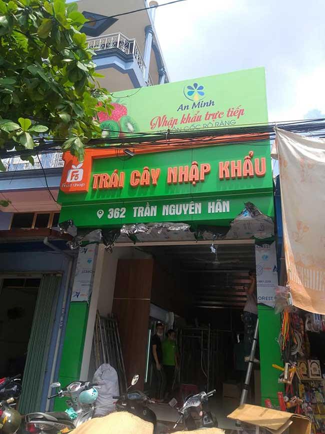 thi cong lam bang hieu quang cao 236 - Làm bảng quảng cáo tại đường Lê Văn Quới quận Bình Tân