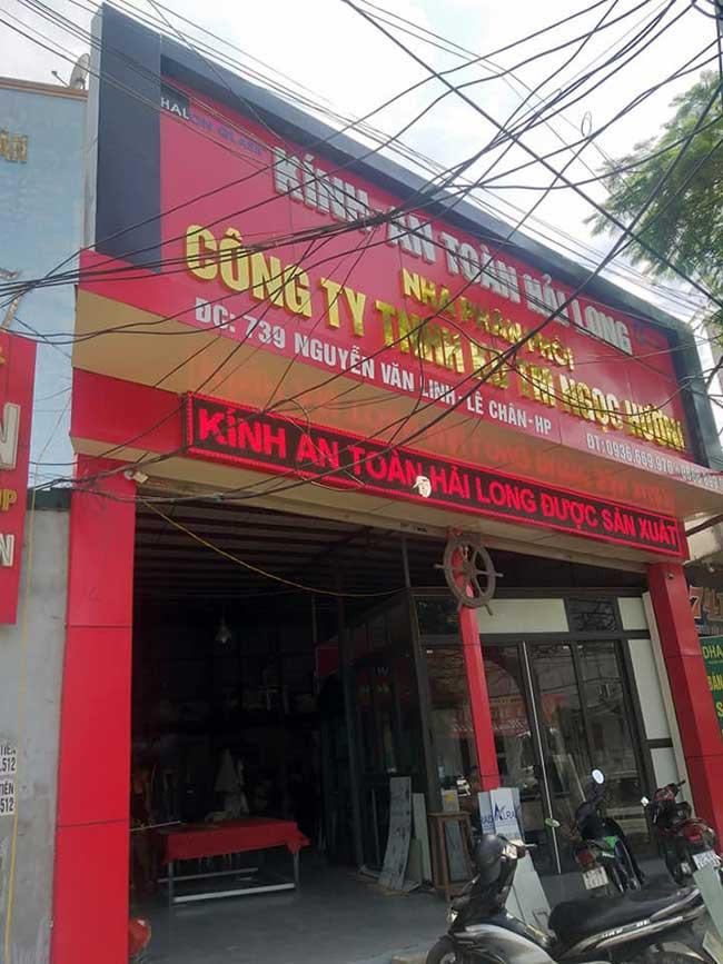thi cong lam bang hieu quang cao 253 - Làm bảng quảng cáo tại đường An Dương Vương, quận Bình Tân