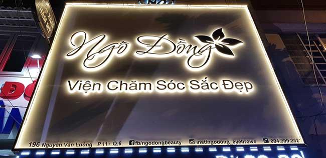 thi cong lam bang hieu quang cao 292 - Làm bảng hiệu quảng cáo giá rẻ tại quận 1