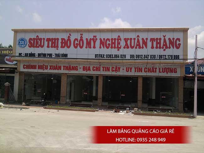 thi cong lam bang hieu quang cao 3 1 - Làm bảng quảng cáo tại đường Lê Văn Quới quận Bình Tân