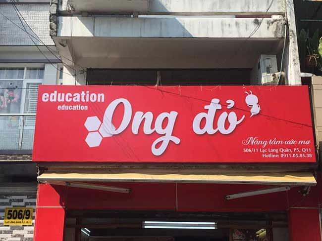 thi cong lam bang hieu quang cao 306 - Làm bảng hiệu quảng cáo đường Nguyễn Sơn quận Tân Phú