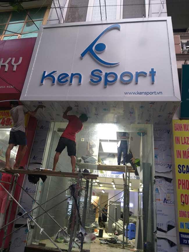 thi cong lam bang hieu quang cao 307 - Làm bảng quảng cáo tại đường An Dương Vương, quận Bình Tân