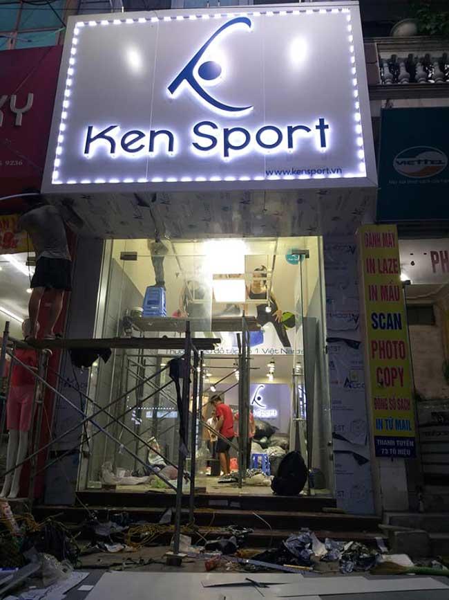 thi cong lam bang hieu quang cao 331 - Làm bảng quảng cáo tại đường Lê Văn Quới quận Bình Tân