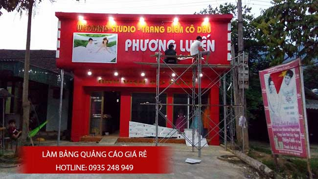 thi cong lam bang hieu quang cao 44 1 - Làm bảng hiệu quảng cáo giá rẻ tại quận Tân Phú TP HCM