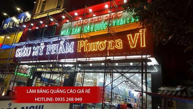 thi cong lam bang hieu quang cao 50 1 - Làm bảng quảng cáo tại đường Lê Văn Quới quận Bình Tân