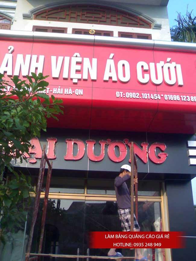 thi cong lam bang hieu quang cao 6 1 - Làm bảng hiệu quảng cáo đường Nguyễn Sơn quận Tân Phú
