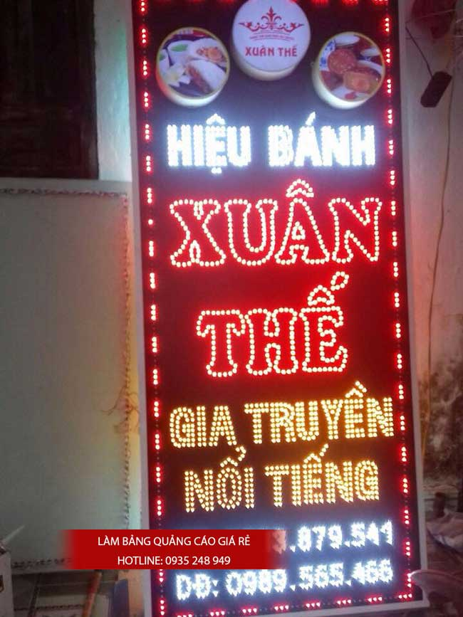thi cong lam bang hieu quang cao 60 1 - Làm bảng hiệu bạt hiflex đường Phan Anh, quận Bình Tân