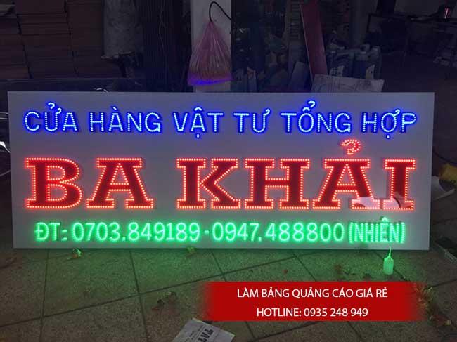 thi cong lam bang hieu quang cao 70 1 - Làm bảng hiệu quảng cáo giá rẻ