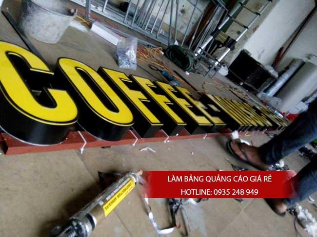 thi cong lam bang hieu quang cao 72 1 - Làm bảng hiệu quảng cáo giá rẻ tại quận Tân Phú TP HCM