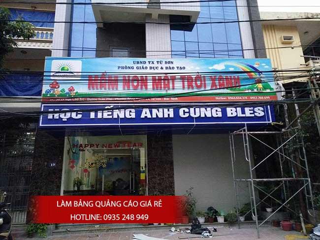 thi cong lam bang hieu quang cao 81 1 - Làm bảng hiệu quảng cáo đường Nguyễn Sơn quận Tân Phú