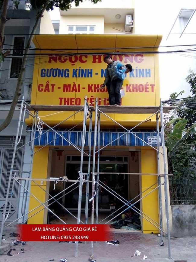 thi cong lam bang hieu quang cao 84 1 - Làm bảng hiệu quảng cáo giá rẻ tại quận tân phú