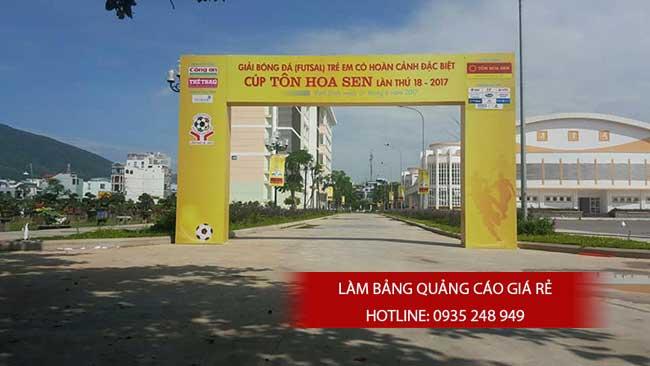 thi cong lam bang hieu quang cao 99 1 - Làm bảng hiệu quảng cáo giá rẻ tại quận Tân Phú TP HCM
