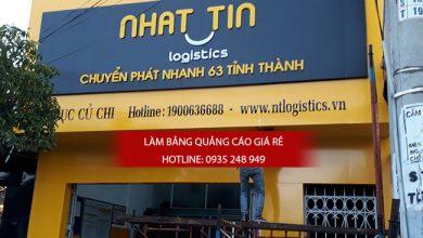 Làm bảng hiệu quảng cáo quận Tân Phú