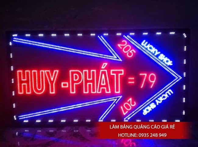 bang bien hieu den led 13 - Làm bảng hiệu đèn led quận 1