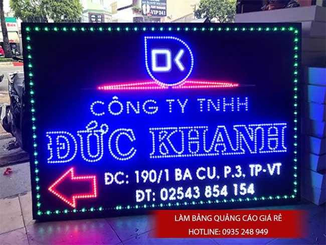 bang bien hieu den led 17 - Làm bảng hiệu quảng cáo quận Bình Tân TPHCM