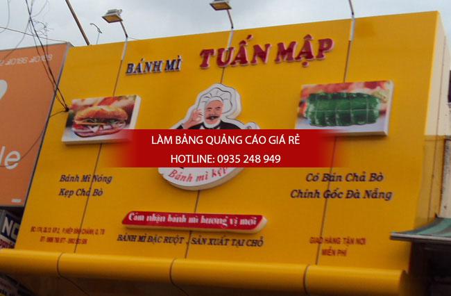 bang hieu chu noi mica tiem banh my - Thi công làm bảng hiệu quảng cáo quận Tân Phú