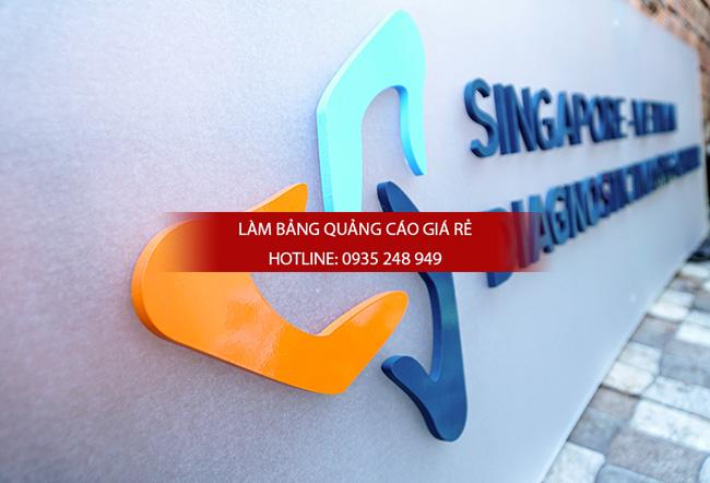bang hieu mica chu noi 1 - Thi công làm bảng hiệu quảng cáo quận Tân Phú