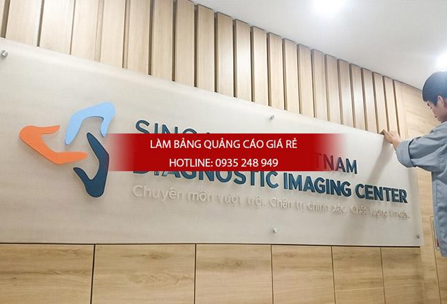bang hieu mica chu noi 2 - Thi công làm bảng hiệu quảng cáo quận Tân Phú