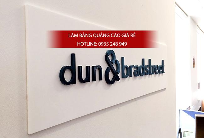 bang hieu mica chu noi 3 - Thi công làm bảng hiệu quảng cáo quận Bình Tân
