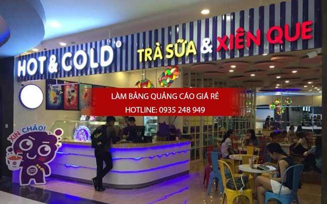bang hieu quan tra sua dep 2 - Làm bảng hiệu quảng cáo quận Bình Tân TPHCM