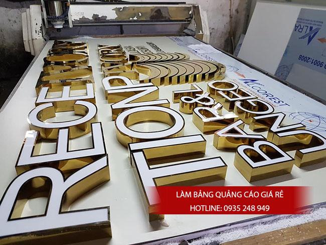 chu noi inox dep gia re 21 - #Chữ nổi inox giá rẻ quận Bình Tân