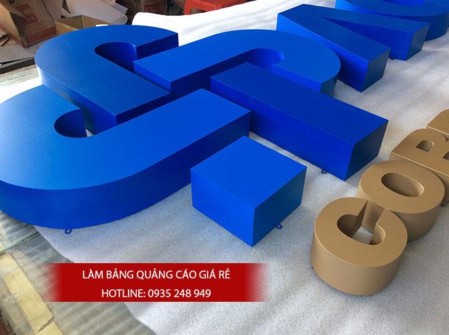 chu noi inox dep gia re 40 - #Chữ nổi inox giá rẻ quận Bình Tân