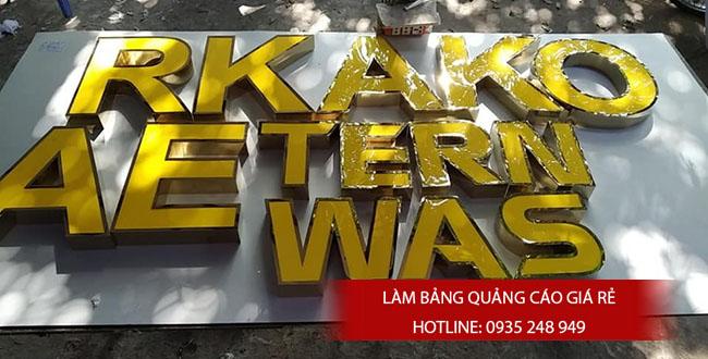 chu noi inox dep gia re 9 - #Chữ nổi inox giá rẻ quận Bình Tân