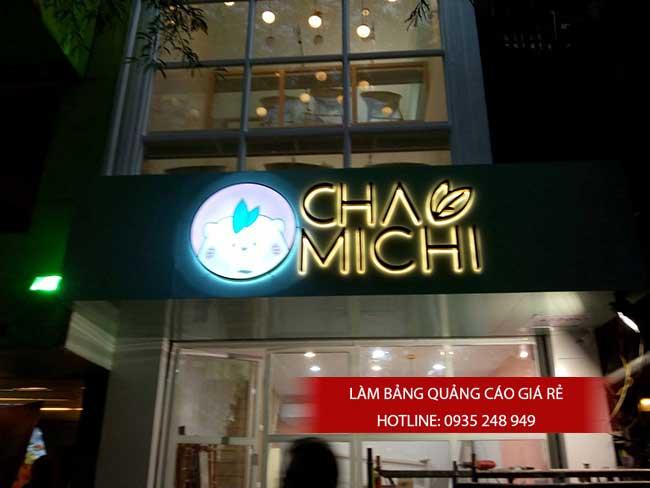 chu noi inox vang 5 - Gia công làm chữ nổi inox giá rẻ quận Tân Phú