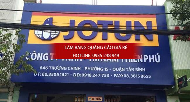 lam bang hieu alu 19 - Thi công làm bảng hiệu quảng cáo quận 5