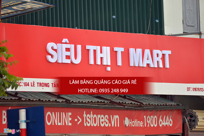 lam bang hieu alu 23 - Thi công làm bảng hiệu quảng cáo quận 5