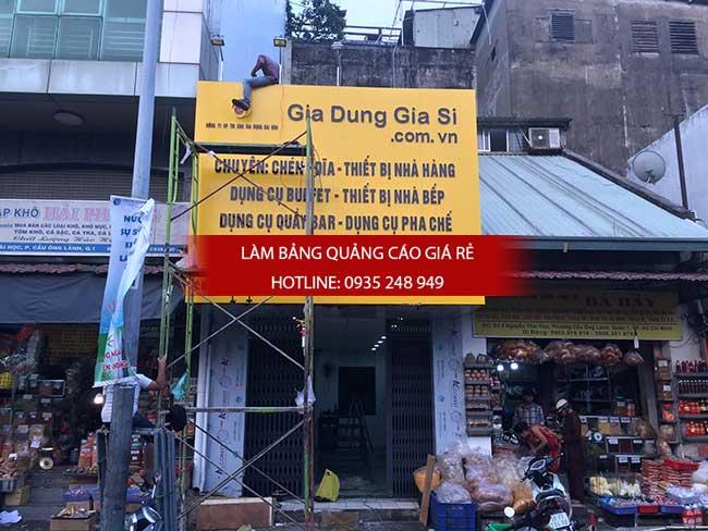 lam bang hieu alu gia re tphcm 6 - Thi công làm bảng hiệu quảng cáo quận 5