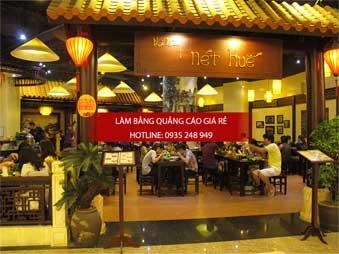 lam bang hieu alu nha hang 1 - Thi công làm bảng hiệu quảng cáo quận 5
