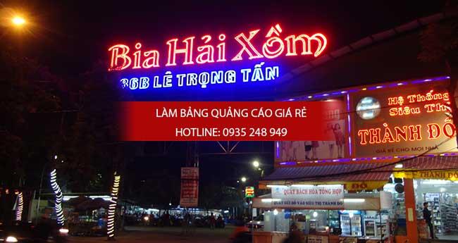 lam bang hieu alu nha hang 2 - Thi công làm bảng hiệu quảng cáo quận 5