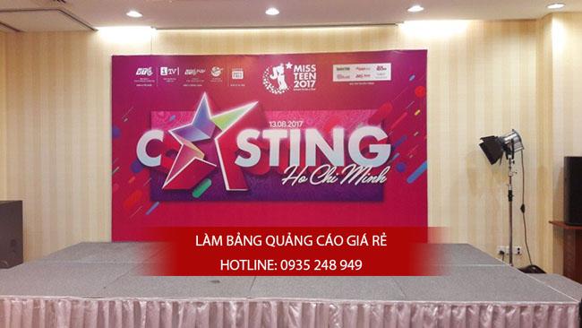 lam bang hieu backdrop 1 - Thi công làm bảng hiệu quảng cáo quận Bình Tân