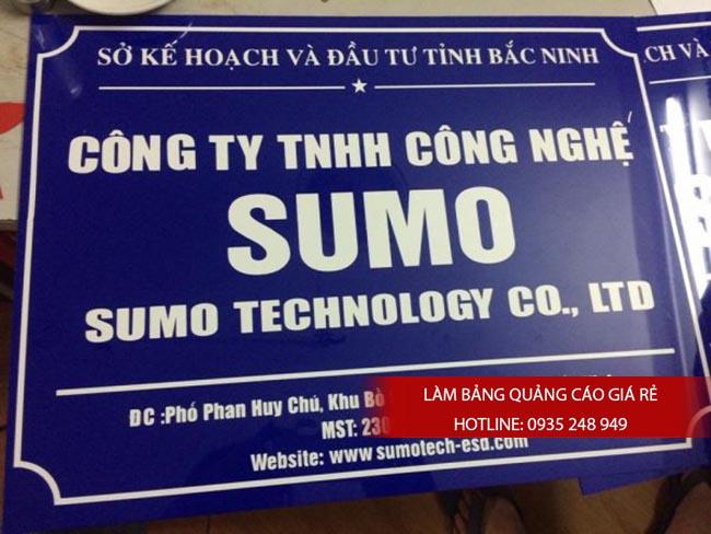 lam bang hieu cong ty mica 2 600x450 1 - Làm bảng hiệu mica giá rẻ tại TPHCM
