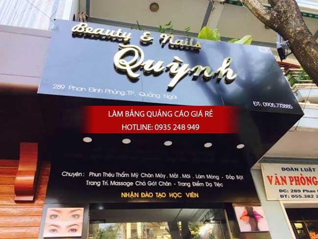 lam bang hieu tiem toc 17 - Làm bảng hiệu quảng cáo quận Bình Tân TPHCM