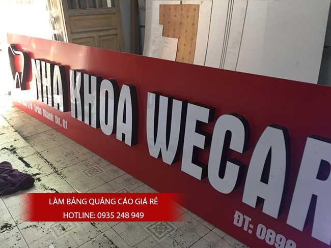 mau bang hieu dep 2 - Thi công làm bảng hiệu quảng cáo quận Tân Phú