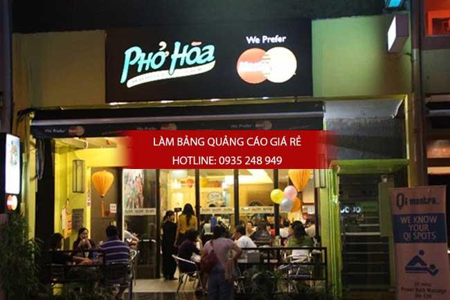 mau bang hieu nha hang 9 - Thi công làm bảng hiệu quảng cáo quận Bình Tân