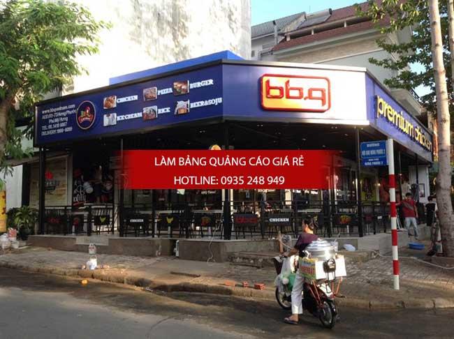 mau bang hieu nha hang dep 5 - Thi công làm bảng hiệu quảng cáo quận Bình Tân