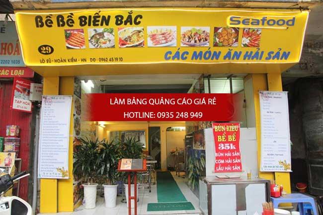 mau bang hieu nha hang dep 8 - Thi công làm bảng hiệu quảng cáo quận Bình Tân