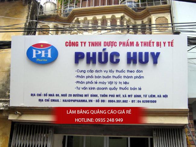 mau bang hieu nha thuoc tay dep 25 - Thi công làm bảng hiệu quảng cáo quận Bình Tân